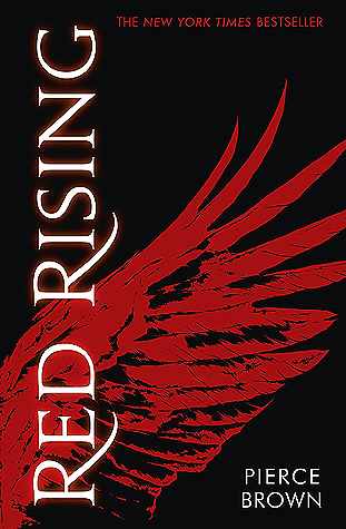 Book cover Pierce Brown - Red Rising
