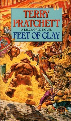 Book cover Terry Pratchett - Feet of Clay