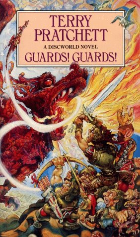 Book cover Terry Pratchett - Guards! Guards!
