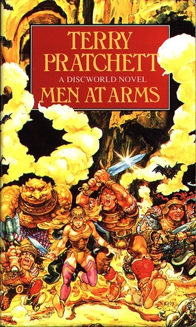 Book cover Terry Pratchett - Men at Arms