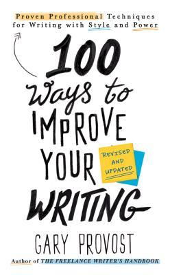 Book cover Gary Provost - 100 Ways to Improve Your Writing