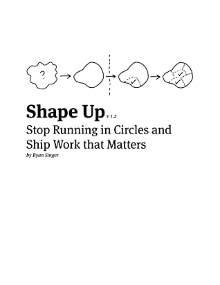 Book cover Ryan Singer - Shape Up