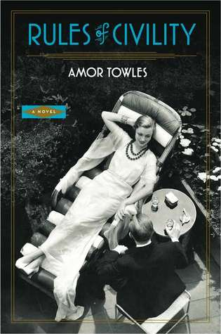 Book cover Amor Towles - Rules of Civility